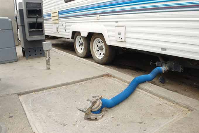 How to Empty RV Sewer