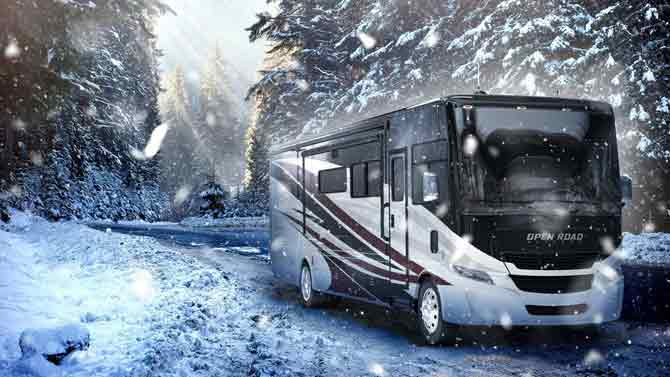 How to Winterize Your Recreational Vehicle